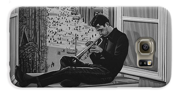 Jazz Galaxy S6 Case - Chet Baker by Paul Meijering
