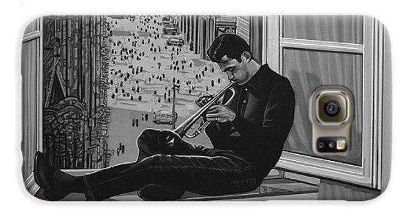 Music Galaxy S6 Case - Chet Baker by Paul Meijering