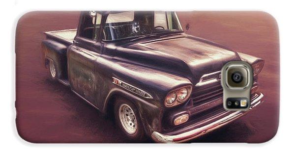 Truck Galaxy S6 Case - Chevrolet Apache Pickup by Scott Norris