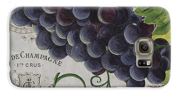 Wine Galaxy S6 Case - Vins De Champagne 2 by Debbie DeWitt