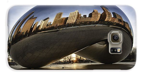 Chicago Cloud Gate At Sunrise Galaxy S6 Case