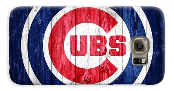 Wrigley Field Galaxy S6 Case - Chicago Cubs Barn Door by Dan Sproul