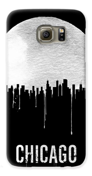 Chicago Galaxy S6 Case - Chicago Skyline Black by Naxart Studio