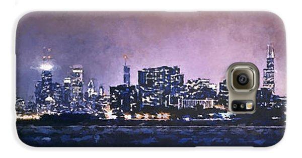 Chicago Skyline From Evanston Galaxy S6 Case by Scott Norris