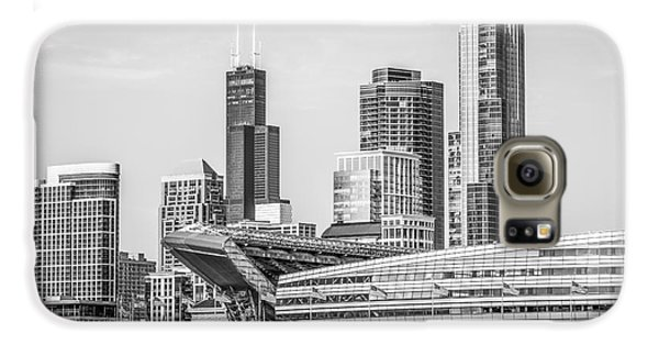 Chicago Skyline With Soldier Field And Willis Tower  Galaxy S6 Case