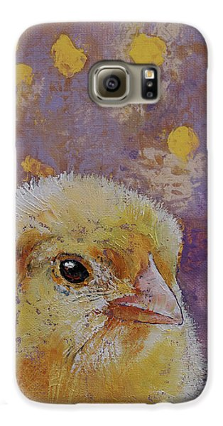 Chicken Galaxy S6 Case - Chick by Michael Creese
