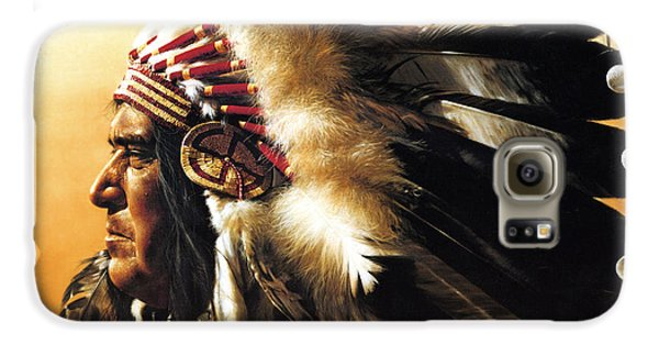 Portraits Galaxy S6 Case - Chief by Greg Olsen