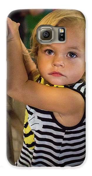 Galaxy S6 Case featuring the photograph Child In The Light by Bill Pevlor