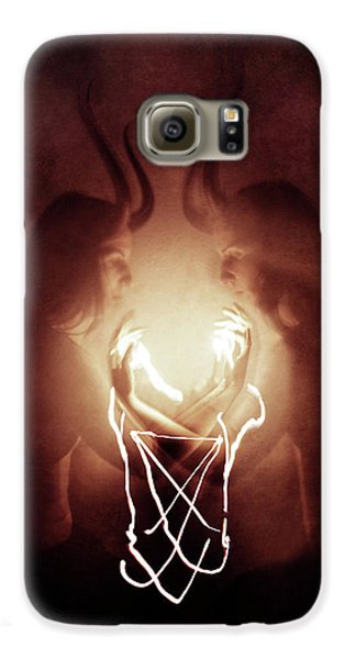 Magician Galaxy S6 Case - Children Of Fire by Cambion Art