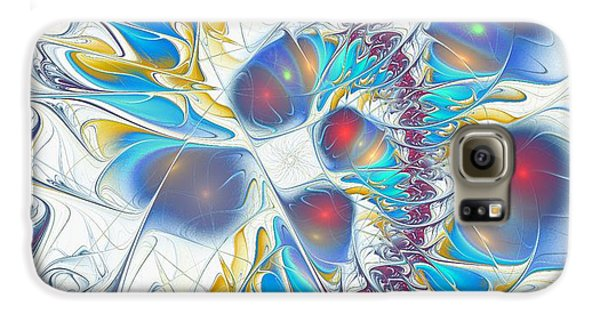 Galaxy S6 Case featuring the digital art Child's Play by Anastasiya Malakhova