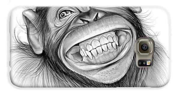 Chimpanzee Galaxy S6 Case