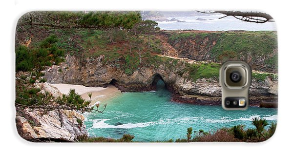 China Cove At Point Lobos Galaxy S6 Case