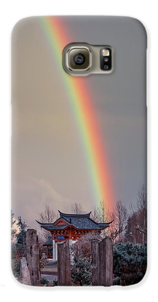 Chinese Reconciliation Park Rainbow Galaxy S6 Case