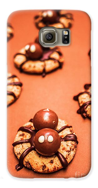 Chocolate Peanut Butter Spider Cookies Galaxy S6 Case by Jorgo Photography - Wall Art Gallery