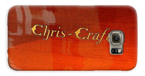 Chris Craft Logo Galaxy S6 Case by Michelle Calkins