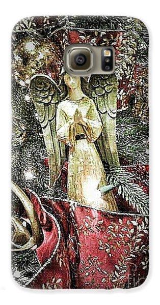 Christmas Angel Greeting Galaxy S6 Case