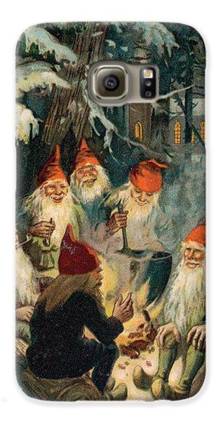 Elf Galaxy S6 Case - Christmas Gnomes by English School