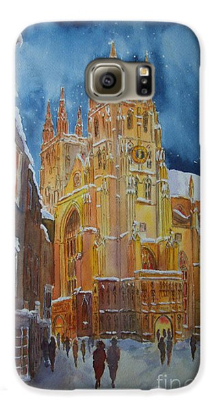 Christmas In Canterbury Galaxy S6 Case