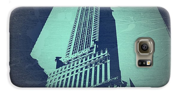 Chrysler Building  Galaxy S6 Case by Naxart Studio