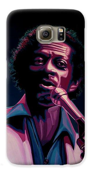 Chuck Berry Galaxy S6 Case by Paul Meijering