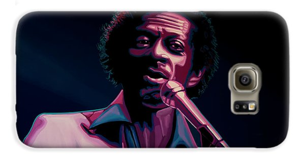 Rhythm And Blues Galaxy S6 Case - Chuck Berry by Paul Meijering