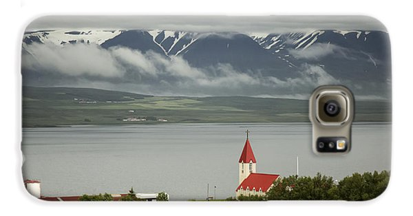 Church In Akureyri Galaxy S6 Case