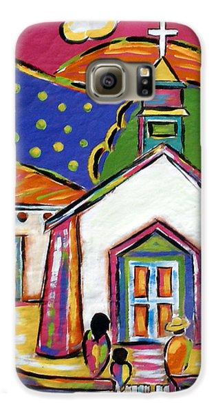 Church In Blanco Galaxy S6 Case