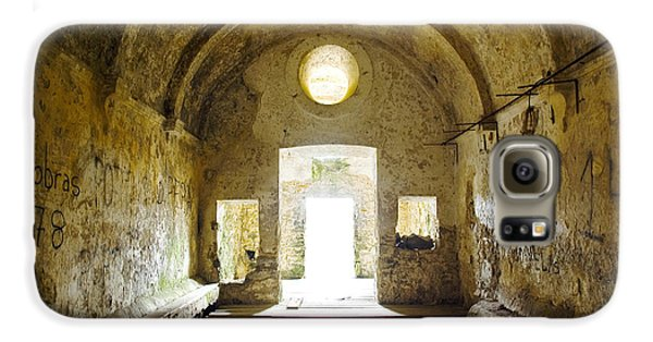 Church Ruin Galaxy S6 Case by Carlos Caetano