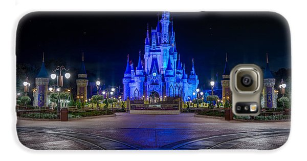 Cinderellas Castle Glow Galaxy S6 Case