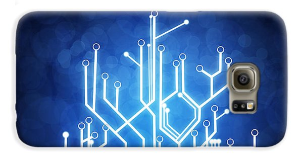 Circuit Board Technology Galaxy S6 Case by Setsiri Silapasuwanchai