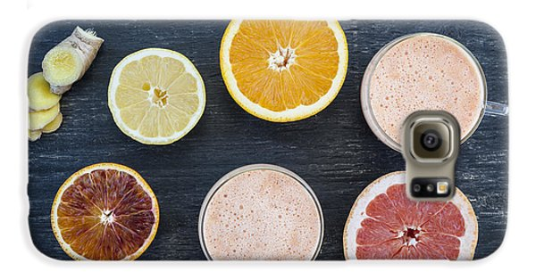 Citrus Smoothies Galaxy S6 Case by Elena Elisseeva