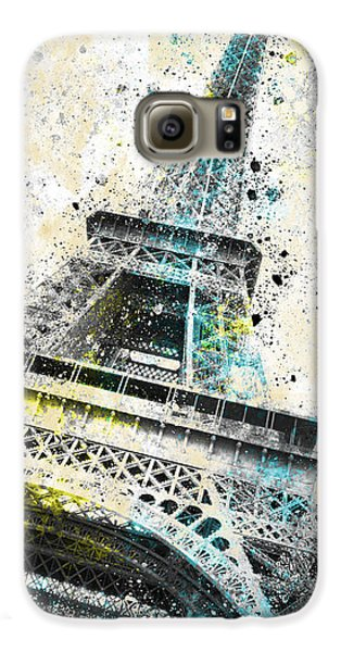 City-art Paris Eiffel Tower Iv Galaxy S6 Case