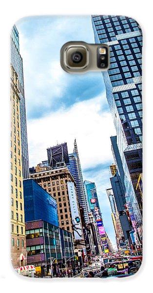 City Sights Nyc Galaxy S6 Case