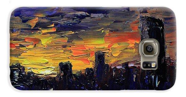 City Sunset Galaxy S6 Case