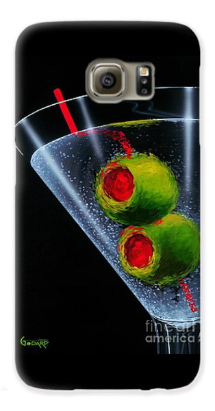 Food And Beverage Galaxy S6 Case - Classic Martini by Michael Godard