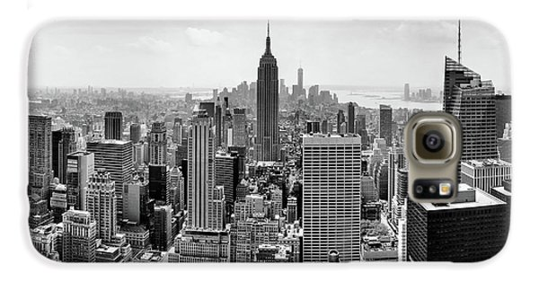 Empire State Building Galaxy S6 Case - Classic New York  by Az Jackson