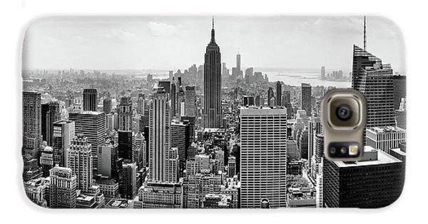 New York City Skyline Galaxy S6 Case - Classic New York  by Az Jackson