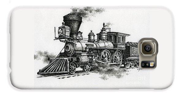 Train Galaxy S6 Case - Classic Steam by James Williamson