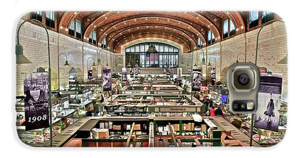 Classic Westside Market Galaxy S6 Case by Frozen in Time Fine Art Photography