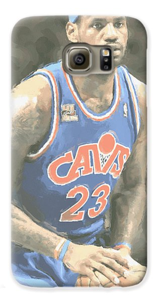 Cleveland Cavaliers Lebron James 1 Galaxy S6 Case