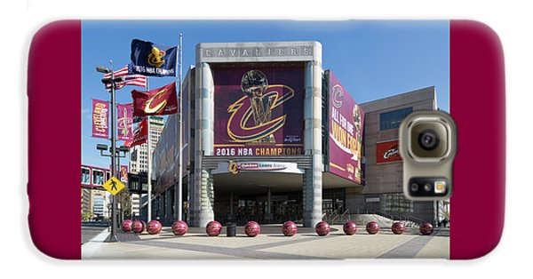 Cleveland Cavaliers The Q Galaxy S6 Case