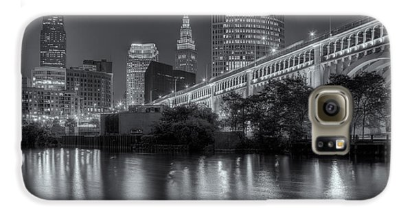 Cleveland Night Skyline IIi Galaxy S6 Case