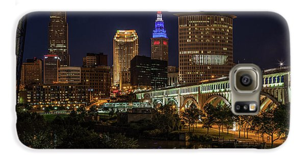 Cleveland Nightscape Galaxy S6 Case