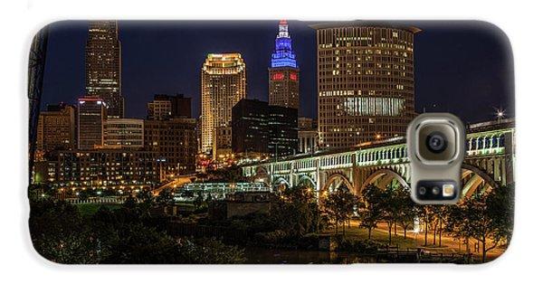 Cleveland Nightscape Galaxy S6 Case