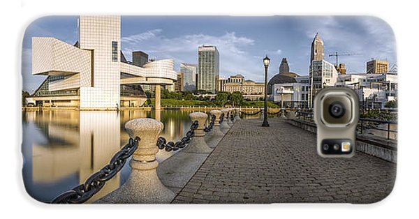 Cleveland Panorama Galaxy S6 Case by James Dean