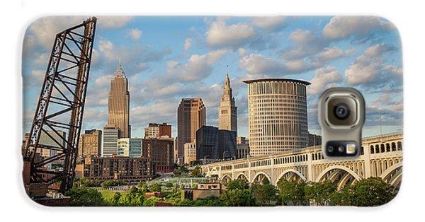 Cleveland Summer Skyline  Galaxy S6 Case