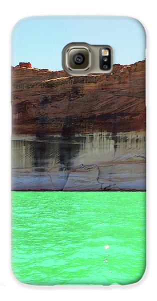 Cliff At Lake Powell Galaxy S6 Case