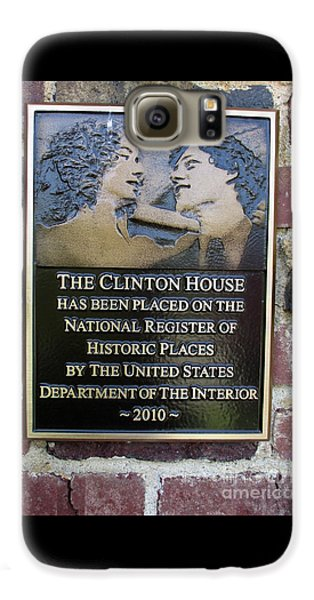 Clinton House Museum 2 Galaxy S6 Case by Randall Weidner