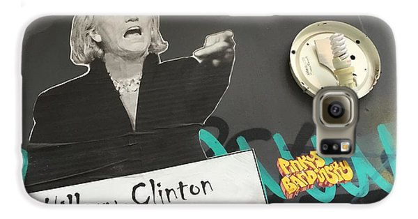 Clinton Message To Donald Trump Galaxy S6 Case by Funkpix Photo Hunter