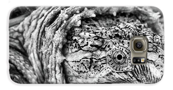 Galaxy S6 Case featuring the photograph Closeup Of A Snapping Turtle by JC Findley